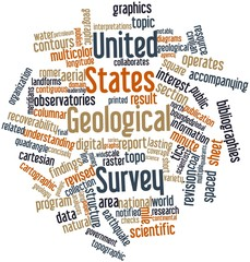 Word cloud for United States Geological Survey