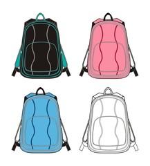 curve pack bag