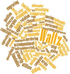 Word cloud for Waltz