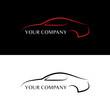 Red and black car logos