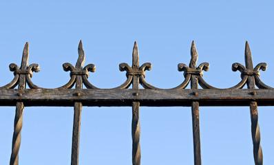 cancello difesa ferro