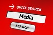 Media web search