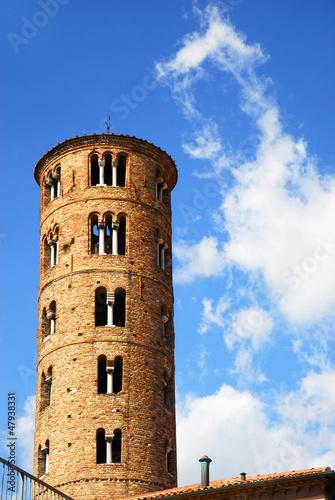 Ravenna, Saint Apollinaire Basilica bell tower