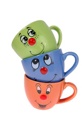 tea mugs and coffee cups