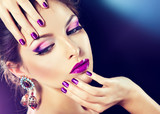 Fototapeta makijaż - Skincare - Kobieta