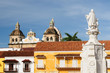 Colombia, View on the old Cartagena