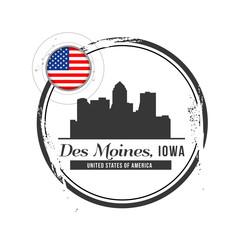 timbre Des Moines