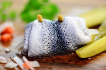Fisch, eingelegt