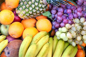 Fondo frutas