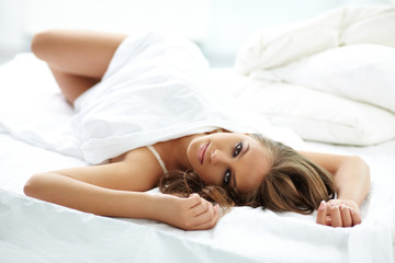 Relaxed female