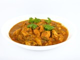 Bowl of chicken curry