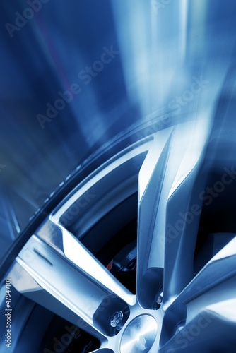 Rims and Tires Background