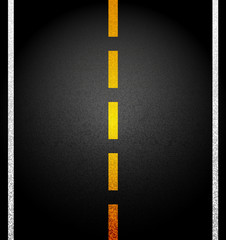 Vector background. Asphalt road.