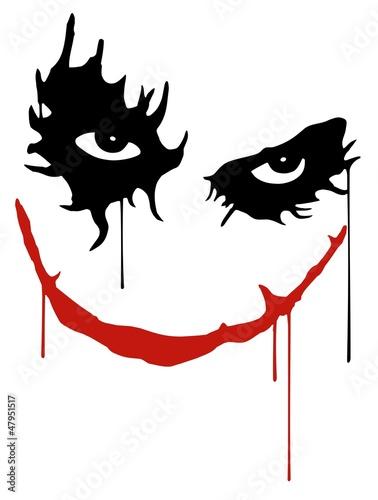 Joker smile - 47951517