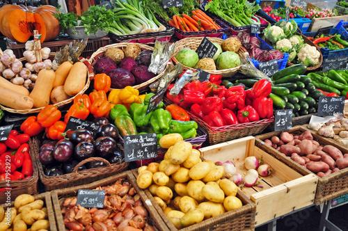Mercato di Cannes, Verdure ed ortaggi