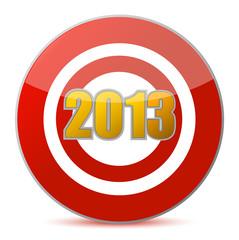 hitting target - New Year 2013
