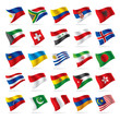 Set of world flags 3