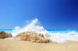 Sunny day at Porto Katsiki, Lefkada island