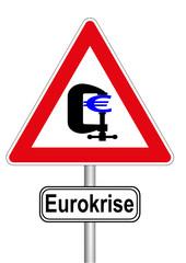 Schild Eurokrise