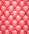 Pink vector upholstery leather pattern background.