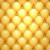 Fototapety Golden vector upholstery leather pattern background.