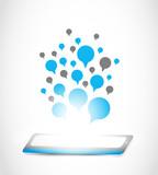 tablet computer communication technology