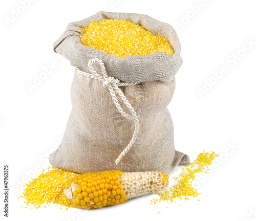 Sack of maize flour