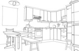 Kitchen sketch