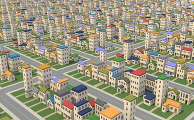 住宅密集地