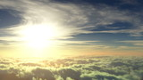 flight to the sun, beautiful 3d animation