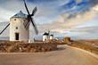 windmills of Spain. Consuegra