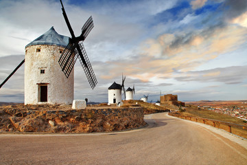 windmills of Spain. Consuegra