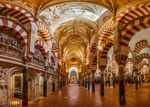 Keuken foto achterwand Bedehuis Mosque-Cathedral of Cordoba, Spain.