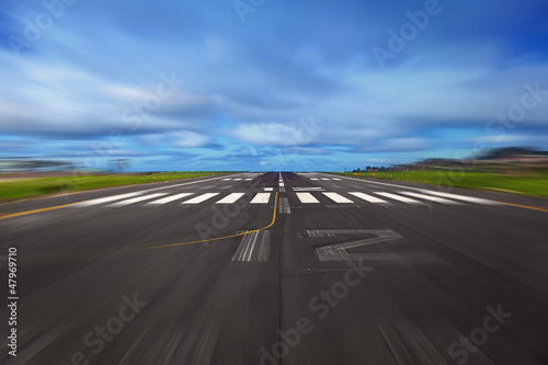 Foto op Canvas Luchthaven Take Off Concept