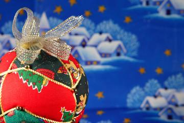 Christmas ball closeup