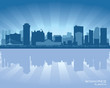 Winnipeg, Canada skyline