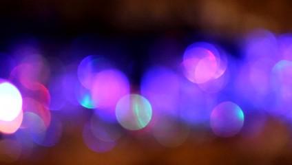 Scintillements multicolores