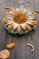 Cake to the mandarine