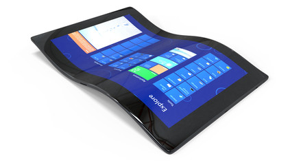 Flexible generic tablet