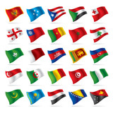 Set of world flags 4