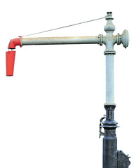 Steam Train Locomotive Engine Water Crane Column Standpipe Spout