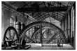 Factory 19th century : Hydraulic Factory Wheel - Roue
