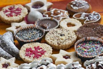 Various sweet cakes