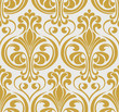 Vintage seamless baroque pattern