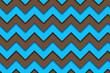 Seamless Retro Zig Zag Background