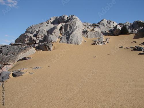 Fototapeten,wildnis,sand,backstein,steine
