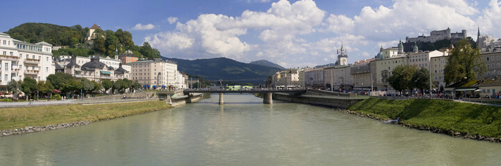River Salzach at Salzburg