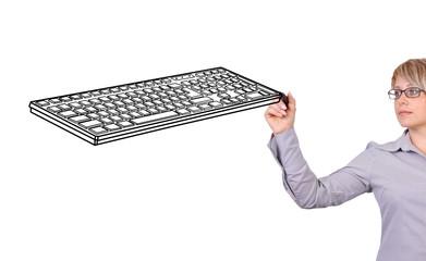 drawing keyboard