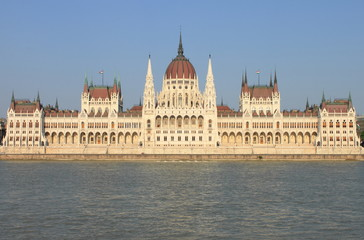 Parliament of Hungary in Budapest, Hungary