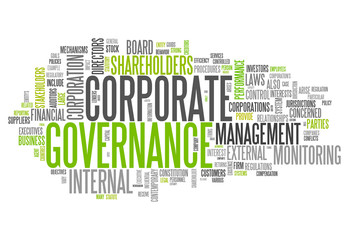 "Word Cloud ""Corporate Governance"""